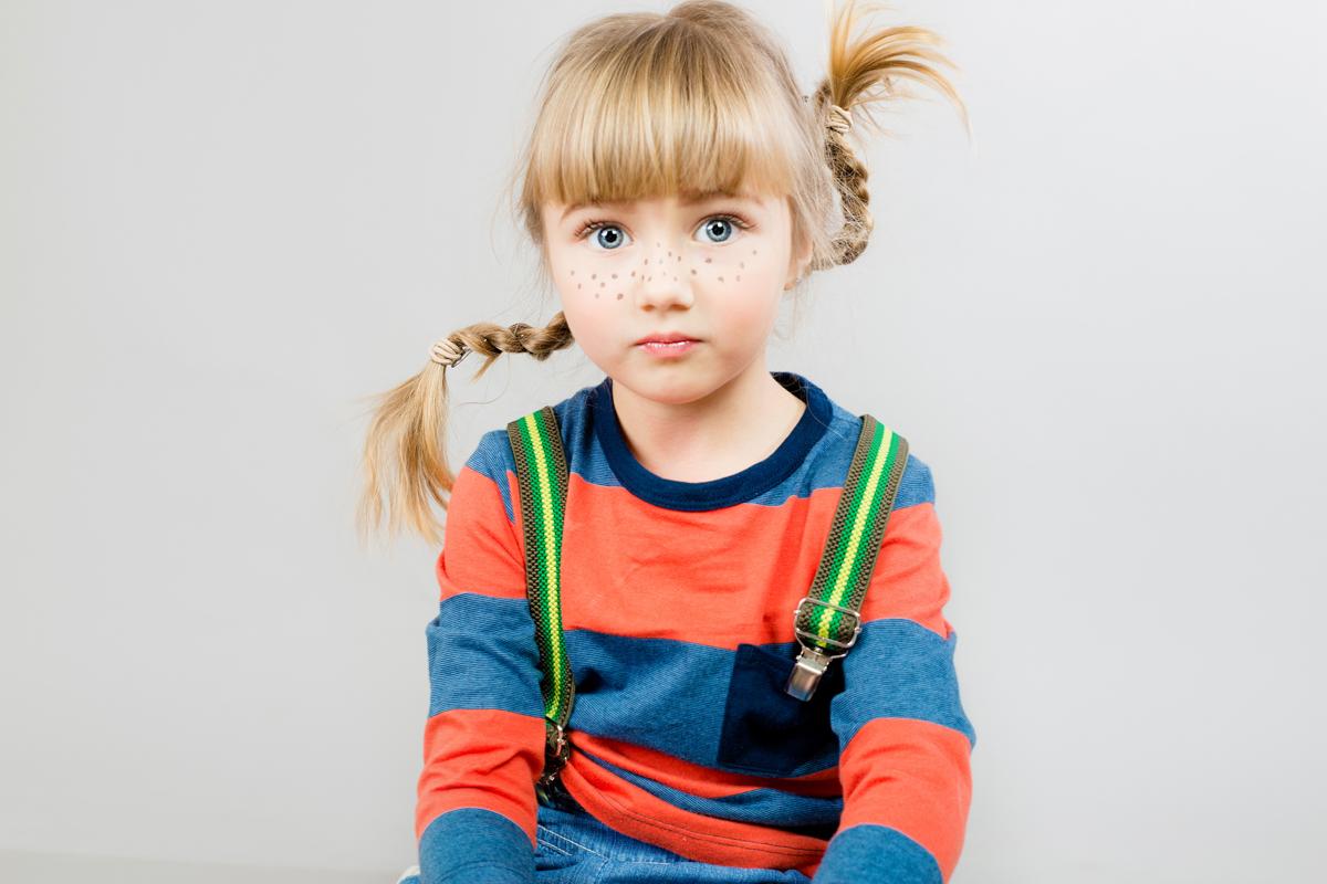 детская студийная фотосессия